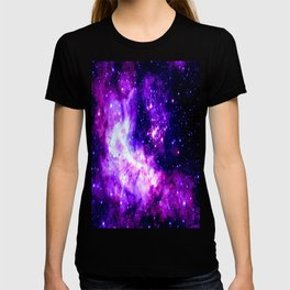 Purple Galaxy : Celestial Fireworks T-shirt