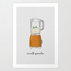 Smooth Operator Art Print