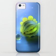 Watermelon Dino iPhone 5c Slim Case
