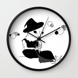 Miss Chick Wall Clock