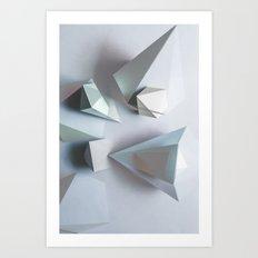 Origami #1 Art Print