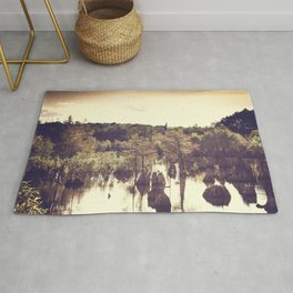 Dead Lakes With A Vintage Twist  Rug