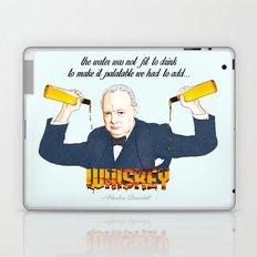 WINSTON AND WHISKEY  Laptop & iPad Skin