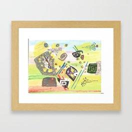 GOD Abstract Framed Art Print