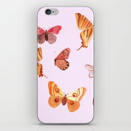 Summer buteflies iPhone Skin