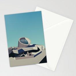 Soviet Modernism: Youth Metro Station in Yerevan, Armenia Stationery Cards