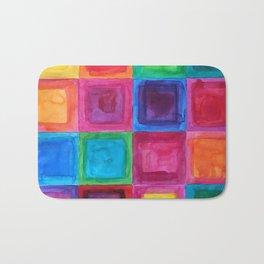Tiled abstract 1 Bath Mat