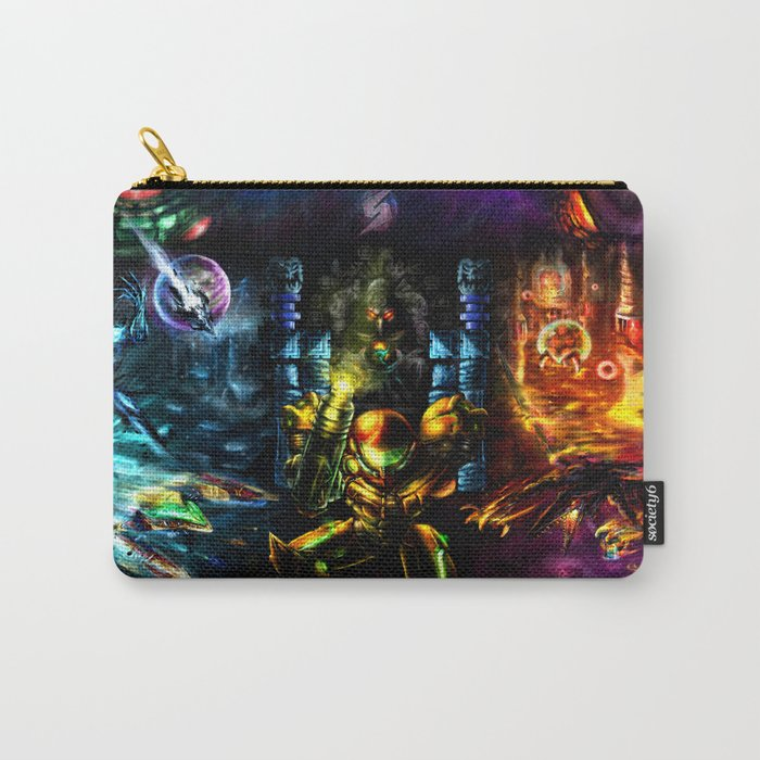 Metroid: 25 Years Carry-All Pouch