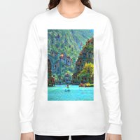 peru Long Sleeve T-shirts featuring Ceti Peru by Bunny Clarke