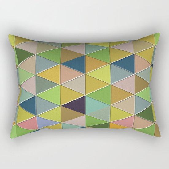 Abstract #242 Rectangular Pillow