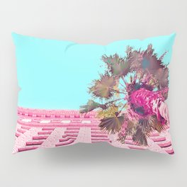 LA Palm Tree Look Up Pillow Sham