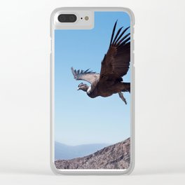Andean condor release Clear iPhone Case