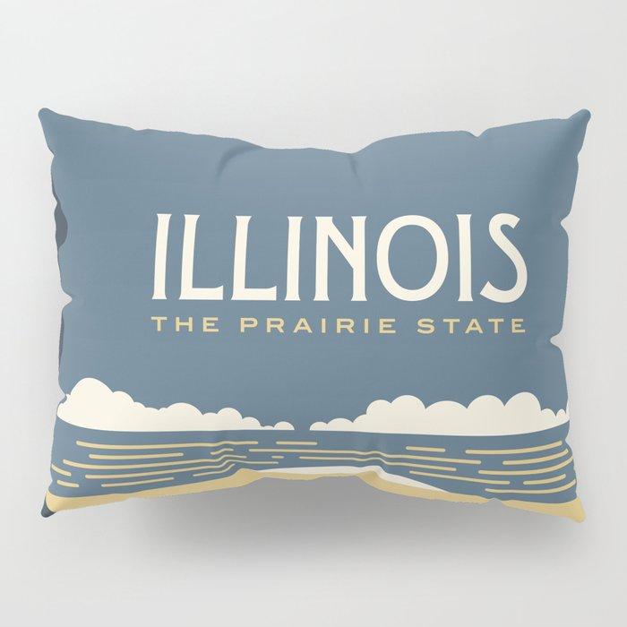 Illinois - Redesigning The States Series Pillow Sham