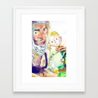 le petit prince Framed Art Prints featuring Le Petit Prince by Halina  Jasińska photography