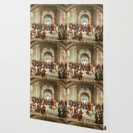 School Of Athens Painting Wallpaper
