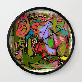 Ganesha (3) SB Wall Clock