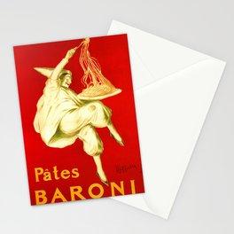 Pasta Baroni Leonetto Cappiello Stationery Cards