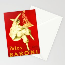 Pasta Baroni Leonetto Cappiello Stationery Cards