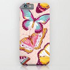Aflutter in Blush iPhone 6 Slim Case