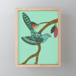 Little Songbird Framed Mini Art Print