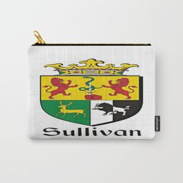 Family Crest - Sullivan - Coat of Arms Carry-All Pouch