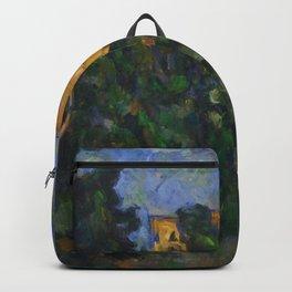 "Paul Cezanne ""Château Noir"", 1903-1904 Backpack"