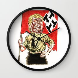 Make America Hate Again Wall Clock
