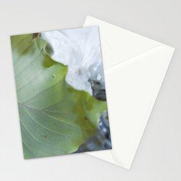 Underwater leaf Stationery Cards