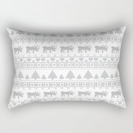 Norvegian Grey Rectangular Pillow