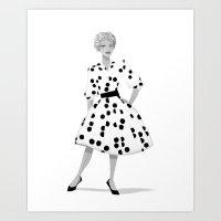 Gigi 01 Art Print