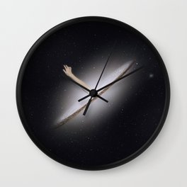 Reach for the stars. Wall Clock