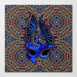 DragonCon Mask Canvas Print