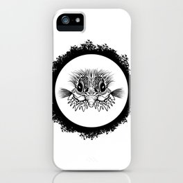Half Bird iPhone Case