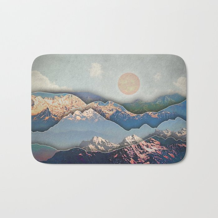 Rolling Mountains Bath Mat