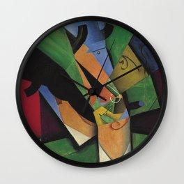 Juan Gris - The Smoker Wall Clock
