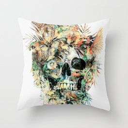 Momento Mori XIV Throw Pillow