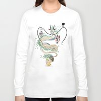 spirited away Long Sleeve T-shirts featuring spirited away by Manoou