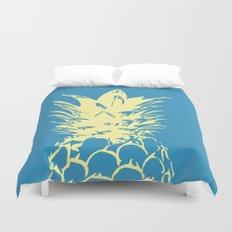 Unique Yellow Pineapple Design Duvet Cover
