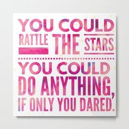 rattle the stars v4 Metal Print