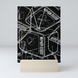 TELEVISION Mini Art Print