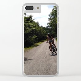Bike Clear iPhone Case