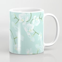 Eternal orchid delicate bloom - blue Coffee Mug