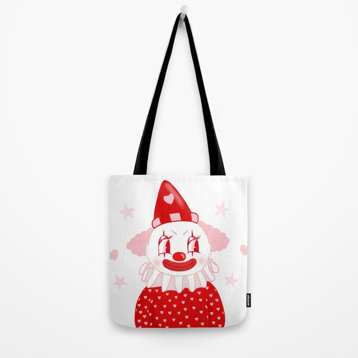 Poopywise the Clown Tote Bag