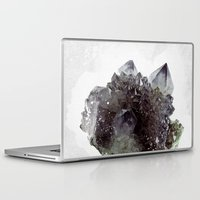 mineral Laptop & iPad Skins featuring Mineral by .eg.