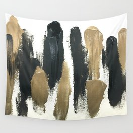 Obsessions in Black Wall Tapestry