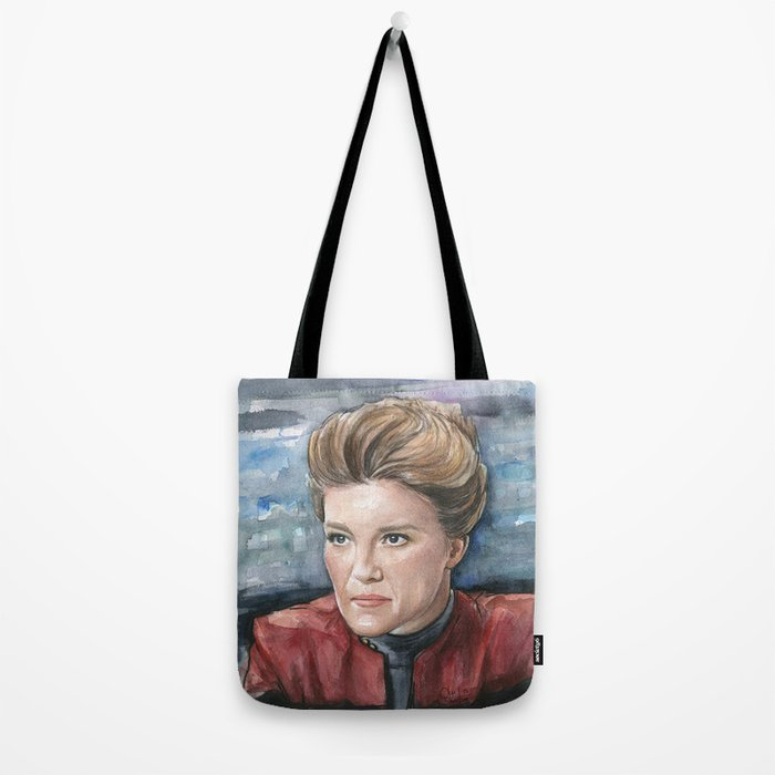 Captain Kathryn Janeway Tote Bag