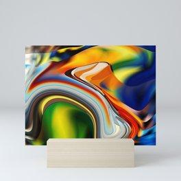 abstarct art Mini Art Print