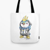 projectrocket Tote Bags featuring Bow down to thy Emperor!   by Randy C