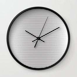 line blend Wall Clock