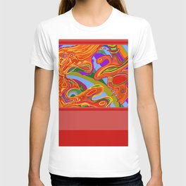 Man, Wilderness, and Psyche T-shirt